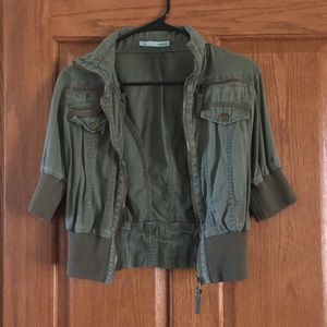 Maurices green jacket